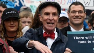 Bill Nye among demonstrators at