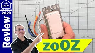 zoOZ Zen30 Double Switch - Two Smart Switches in a Single Gang Box