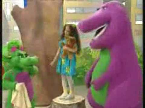 Barney Hebrew I love You