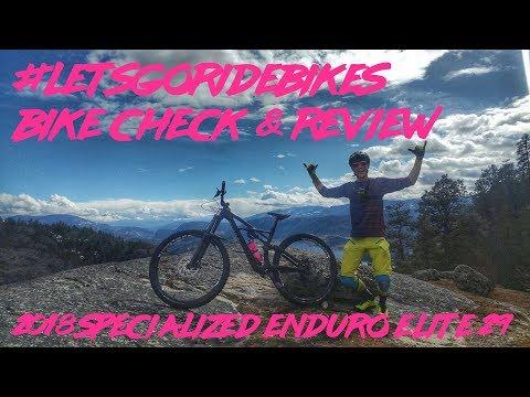 2018 Specialized Enduro Elite 29   Bike Check   Review   #letsgoridebikes