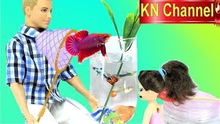 Đồ chơi trẻ em BẮT CON CÁ ĐUÔI NỮ HOÀNG VÔ LY TẶNG BÚP BÊ KN Channel