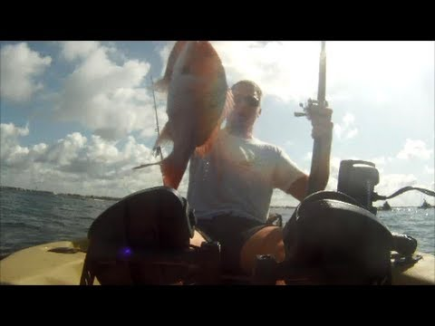 Red Snapper and Gag Grouper from a Kayak in the Gulf of Mexico