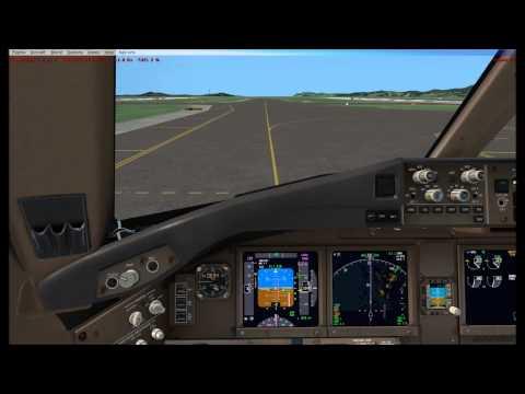 VATSIM --Malaysia Airlines MAS66 landing in Incheon