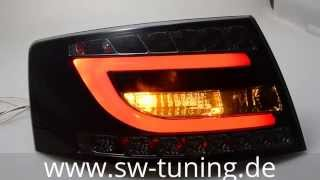 sold out forever! SW-Celis LED Rückleuchten Audi A6 4F Lim Black Smoke 6Pin SW-Tuning