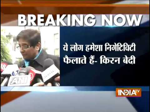 Delhi polls: Kiran Bedi accepts Arvind Kejriwal's challenge for public debate