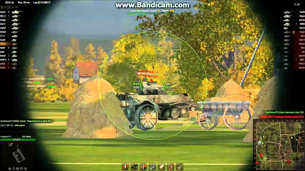 World of Tanks - M18 Hellcat: Sniper, Confederate - YouTube