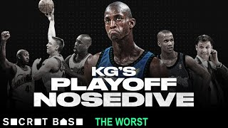 Kevin Garnett's worst playoff game set the tone for a whole decade of failure