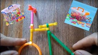Xếp hình que  - đồ chơi thông minh -nhạc thiếu nhi sôi động - nhạc heo đất