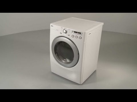 LG Electric Dryer Disassembly