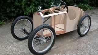 Soapbox Down Hill Racer - 26th Oct 2011 -  Tiny Tots Bugatti