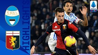 Spal 1-1 Genoa | Petagna puts Spal in front then Sturaro's header draws level immediately! | Serie A