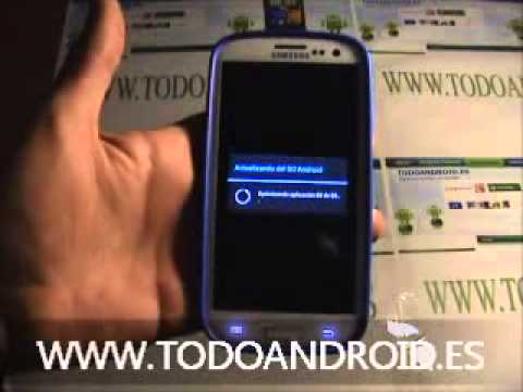 Actualizar el Samsung Galaxy S3 a Jelly Bean android 4.1.1 via OTA