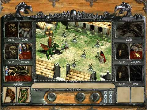 Disciples: Sacred Lands - Mountain Clans conquer Undead Hordes capital