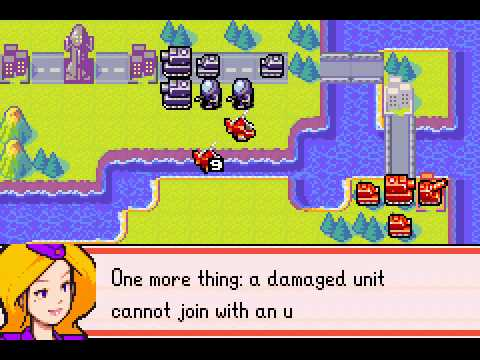 Advance Wars 2 - Black Hole Rising - Advance Wars 2 Mission 3: Orange Dawn - User video