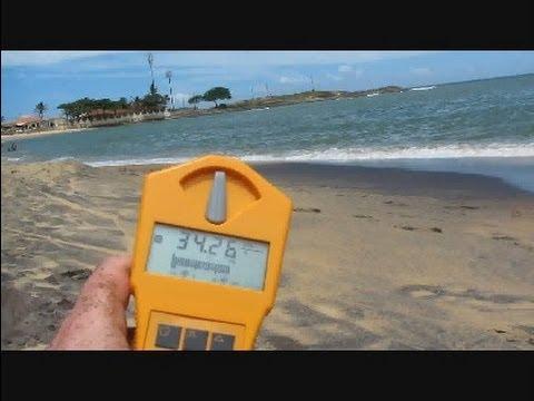 brazil 2012: sunbathing on radioactive beaches