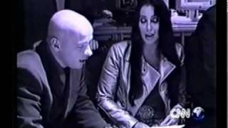 Cher - CNN News Cher with Eros Ramazzotti (2001)