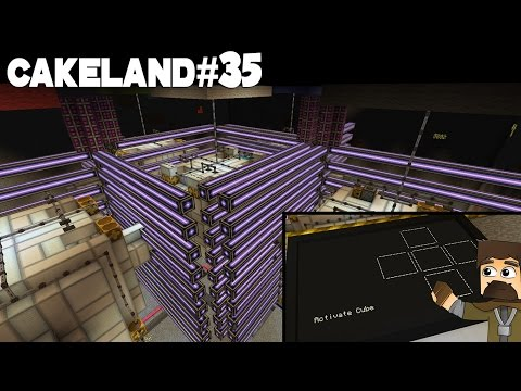 CakeLand FTB #35: Мини-игра КУБ с Мэлом!)