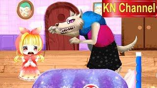 CÔ BÉ QUÀNG KHĂN ĐỎ | TRUYỆN CỔ TÍCH THIẾU NHI | Trò chơi KN Channel | STORY FOR KIDS | GAME VIDEO