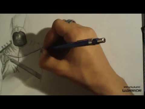 Видео как нарисовать Ассасина 4 карандашом