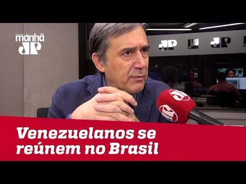 Países da América Latina precisam encontrar saída de diálogo com Venezuela | #MarcoAntonioVilla