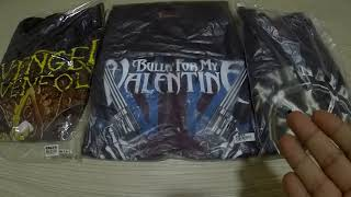 T Shirt Band Avenged Sevenfold, Bullet For My Valentine Review! (WAN RIDZWAN S2EP145)