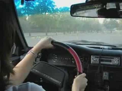 Уроки вождения для автоледи.  Урок 6