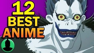 12 Anime That Will Blow YOUR Mind - ToonedUp Anime S1 E2 (Death Note, Cowboy Bebop, and more)