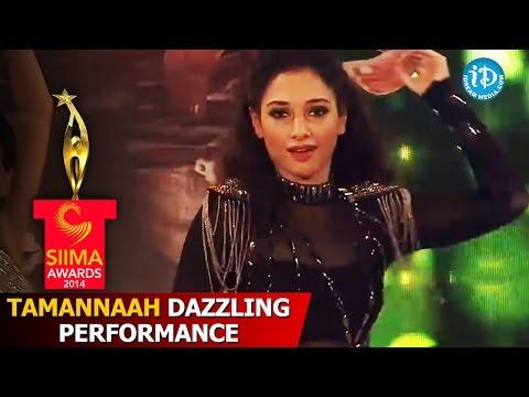 Tamannaah Bhatia Dazzling Performance @ SIIMA 2014, Malaysia