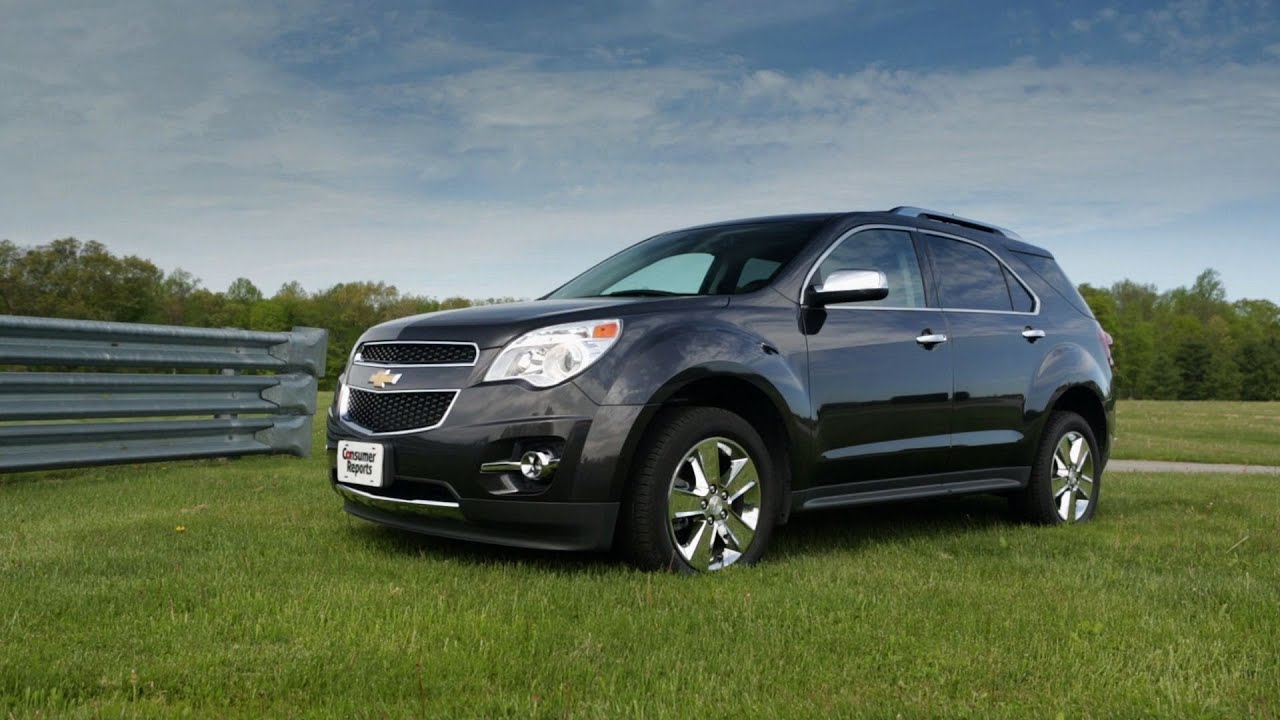 2013 Chevrolet Equinox quick take from Consumer Reports - YouTube