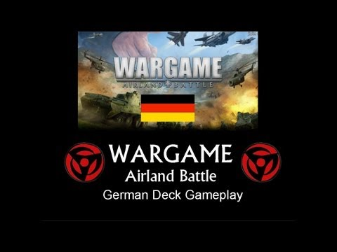 Let's Play: Wargame AirLand Battle: German Deck Skirmish Mode