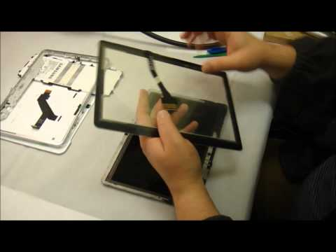 How to replace front glass and digitizer on Samsung Galaxy Tab 2 10 1
