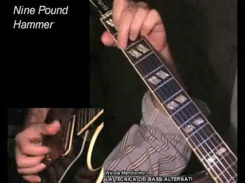 Nine Pound Hammer - Merle Travis - learn how to play fingerstyle songs, acoustic guitar lesson&tab