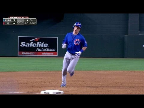 CHC@ARI: Coghlan belts two-run homer to right