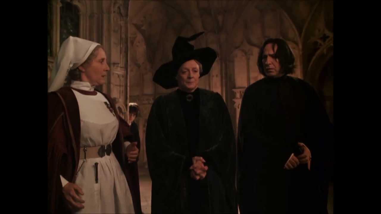 Professor Snape vs Professor Mcgonagall Snape And Mcgonagall Make