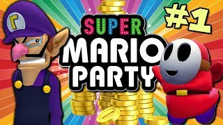 Our Friendship Is DESTROYED || Super Mario Party || PART 1