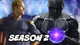 The Boys Scene Black Noir Epic Fight - Season 2 and Batman Easter Eggs Breakdown