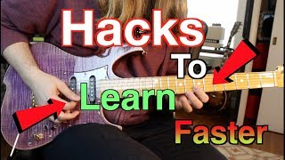 How To Learn Guitar Faster! ( Without Cutting Corners)
