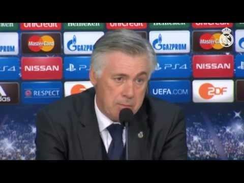 Ancelotti analizó la victoria del Real Madrid ante el Schalke 04