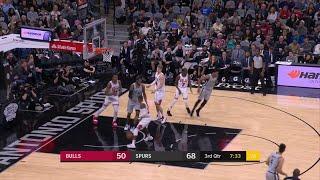 3rd Quarter, One Box Video: San Antonio Spurs vs. Chicago Bulls