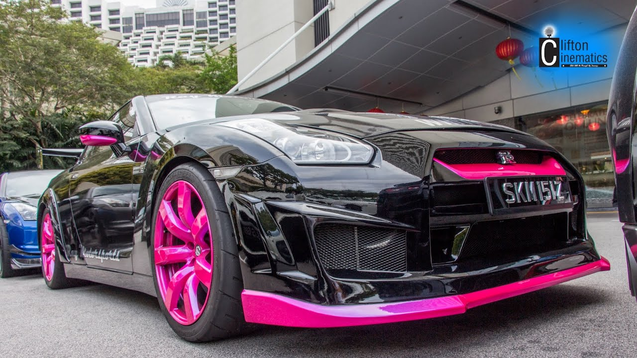 TOMMY KAIRA , I Am Slim , Pink Rims and Candy Red Nissan ...