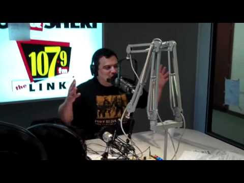 Carlos Mencia live with Bob and Sheri