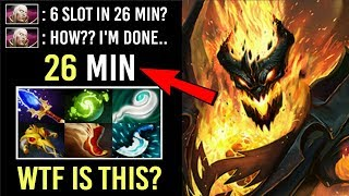 EPIC Pro Shadow Fiend How He Can Farm so Fast? 6 Slot in 26Min OMG Eul's Combo vs Invoker WTF Dota 2