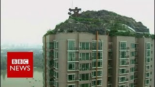 Download ROOFTOP 'ROCK VILLA' ON BEIJING'S SKYLINE - BBC NEWS 3Gp Mp4
