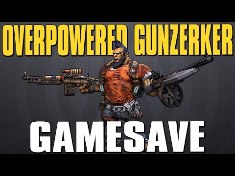 Borderlands 2 OP 8 Gunzerker Game Save! Xbox 360. PS3. & PC