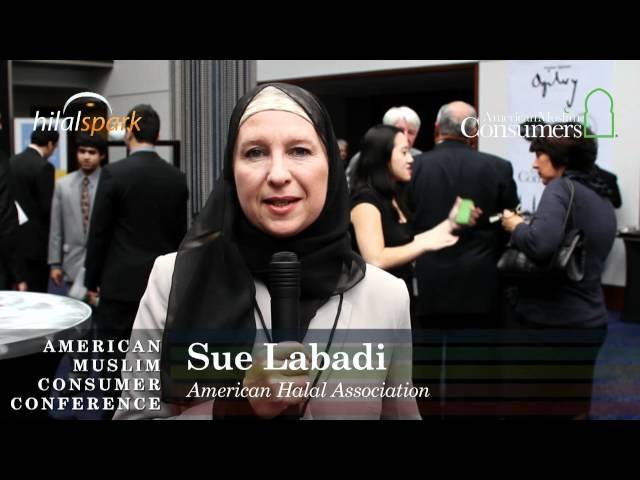 Sue Labadi, American Halal Association at AMCC2010