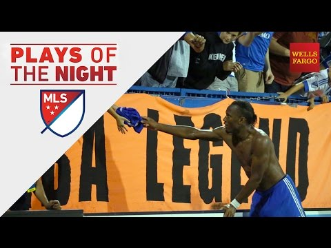 Drogba Legend makes his mark on MLS | Plays of the Night presented by Wells Fargo