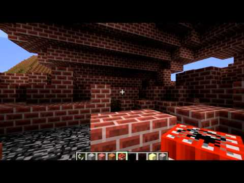 MineCraft Monday Mod Review Ep.1 Block Physics Mod By Id_Miner For 1.2.5