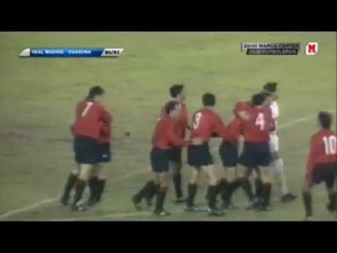 Real Madrid 0-4 Osasuna 30-12-90