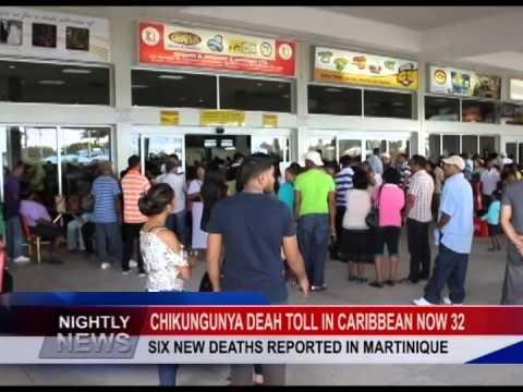 CHIKUNGUNYA DEAH TOLL IN CARIBBEAN NOW 32