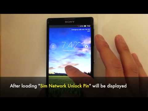Unlock Sony Xperia - All Models Support (Z3. Z2. ZR. ZL. Z. L. SP. E. E. Dual. V. J. TX. Miro. Go)